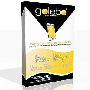 Golebo Semi-Matt protection d'écran pour Apple iPhone 3G - (Mat satine, Montage sans bulles, A retirer simplement)