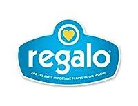 Regalo Easy Step Extra Tall Walk Thru Gate, White by Regalo