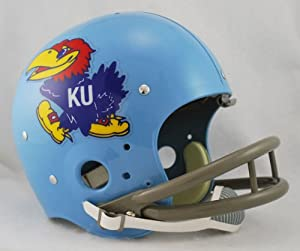 NCAA Kansas Jayhawks Full Size TK Helmet by Riddell