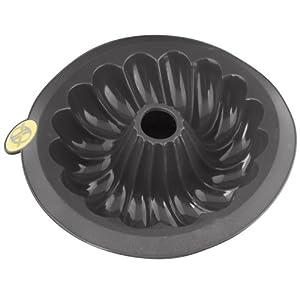 Smartware Silicone Bundt Pan, Gray by Smartware