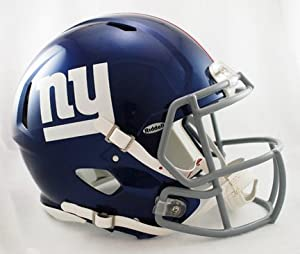 Buy New York Giants NFL Authentic Speed Revolution Full Size Helmet from Riddell by Riddell