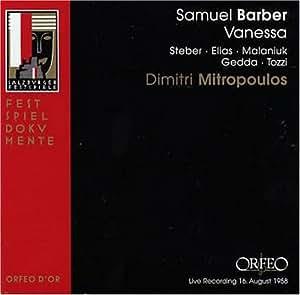 Barber Vanessa : Barber - Vanessa: Samuel Barber: Amazon.it: Musica