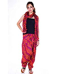 Kismat Collection Women's Pure Cotton Printed Patiala & Duppta Sets (Free Size) - B01L6SFM84