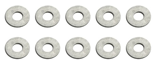 Team Associated 6936 Aluminum #4 Washers, 10-Piece