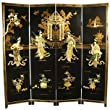 Oriental Furniture 6 ft. Tall Dancing Ladies Screen