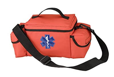 Tactical First Aid Kit: Rothco Orange E.M.S. Rescue Bag by Rothco