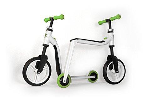 Scoot & Ride Highway Freak Ride-On (White/ Green)