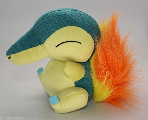 Pokemon Center Cyndaquil Fire Pokedoll Stuffed Animal Plush Doll Toy Great Gift (Fire Red Gameboy Advanced compare prices)