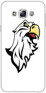 Snoogg Angry Eagle Mascot Designer Protective Back Case Cover Forsamsung Gala...
