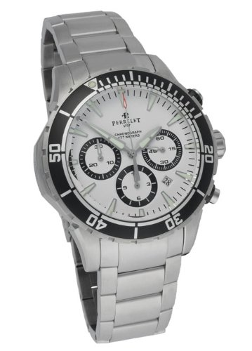 Perrelet Seacraft Automatic Chronograph Dive Men's Luxury Watch A1054/A