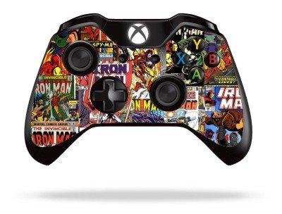 comics-superhero-xbox-one-remote-controller-gamepad-skin-cover-vinyl-xb1r8