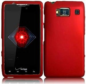 "VMG Motorola Droid RAZR MAXX HD Hard Cell Phone Case Cover - DARK RED [by VANMOBILEGEAR] *** For New RAZR MAXX ""HD"" XT926 Only ***"