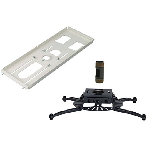 Premier Mounts Pds-fcta4 Ceiling Mount For Projector - 75 Lb Load Capacity - Black
