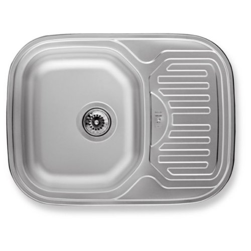Rundbecken Spüle Edelstahl Spülbecken Küchenspüle Edelstahlspüle | lae