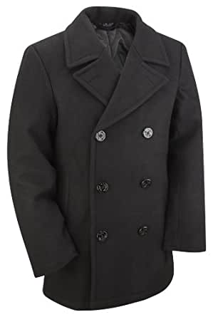 "US Navy Reproduction Wool Pea Coat (L 40""-42"")"