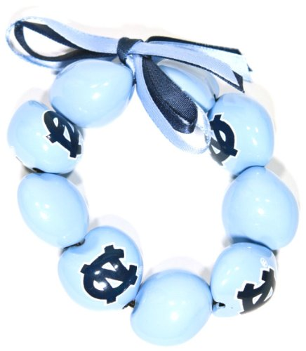 NCAA North Carolina Tar Heels Go Nuts Kukui Nut Bracelet at Amazon.com