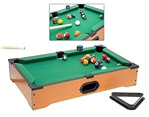 ghp mini pool table desk game board billiards set w accessories sports outdoors. Black Bedroom Furniture Sets. Home Design Ideas