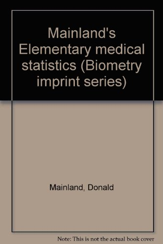 mainlands-elementary-medical-statistics-biometry-imprint-series