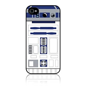 R2D2 Star Wars blue and white iphone 4/4s case at amazon