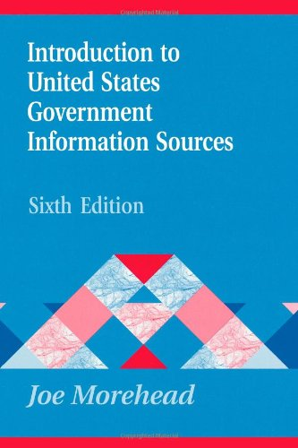 Introduction to United States Government Information...