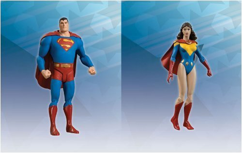 Picture of DC Direct All Star: Frank Quitely's Superman & Super Lois Action Figures Set of 2 (B001GD9YUW) (Superman Action Figures)