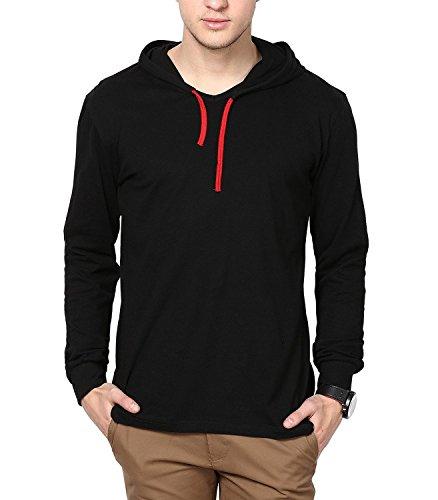DENIMHOLIC-Mens-Hooded-Full-Sleeve-Cotton-T-Shirt