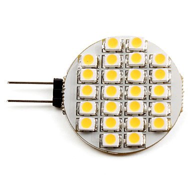 Luo G4 1W 24X3528Smd 50Lm 2700K Warm White Light Led Spot Bulb (12V)
