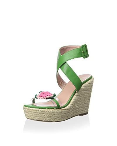RED Valentino Women's Wedge Sandal