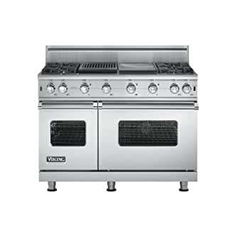 Viking VGCC5484GQSS 48 Professional Series Sealed Burner Gas Range