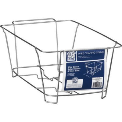 Bakers & Chefs Wire Chafing Stand (4 Pack)
