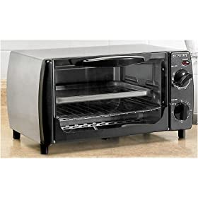 Kitchen Selectives 4-Slice Toaster Oven