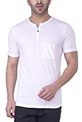 Upbeat Men's Cotton T-Shirt (CU_05_0001_S_White)