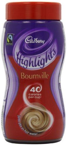 Cadbury Highlights Hot Dark Chocolate Jar 220 g (Pack of 3)