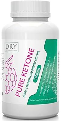 #1 Premium Pure Raspberry Ketones - 500mg per Vegetarian Capsule - Max Strength Ketone Plus Antioxidant Supplement for Weight Loss & Fat Burn - 60 Count - Satisfaction Guarantee