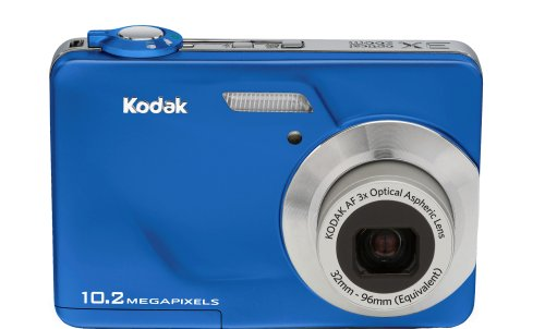Kodak EasyShare C180 10 MP Digital Camera with 3x Optical Zoom and 2.4 inch LCD (Imperial Blue)