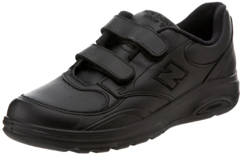 New Balance Men's MW812 Velcro Walking Shoe,Black,14 4E US (New Balance Walking Shoes Velcro compare prices)