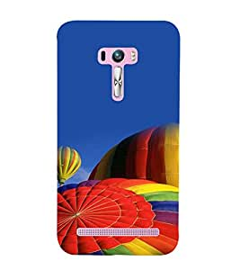 printtech Hot Air Balloon Colored Back Case Cover for Asus Zenfone Selfie::Asus Zenfone Selfie ZD551KL