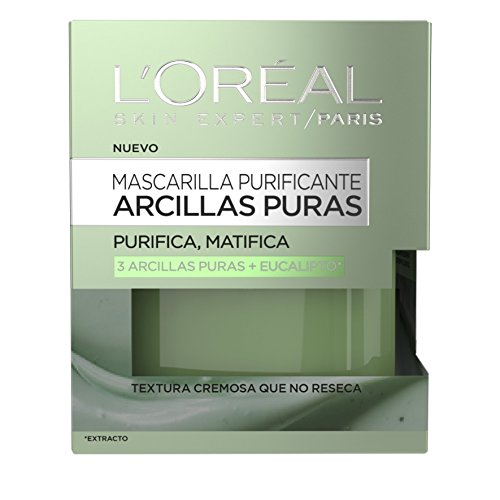 loreal-paris-mascarilla-arcilla-verde-50-ml