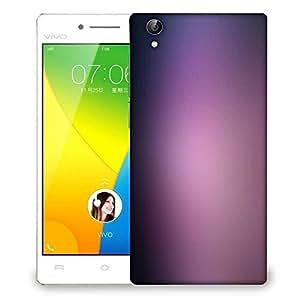 Snoogg Lite Purple Pattern Design Designer Protective Phone Back Case Cover For VIVO Y51 L