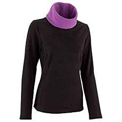 Quechua Solid Turtle Neck Casual WomenS Sweater - Size L