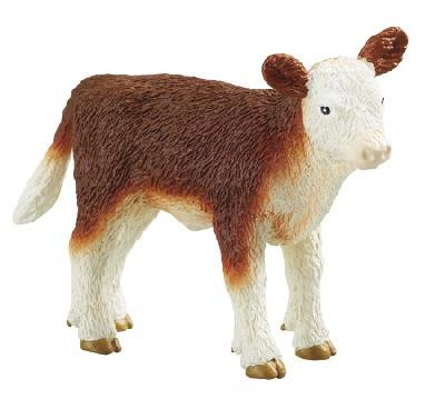 Safari Ltd. Replicas - Safari Farm - HEREFORD CALF (3 inch)