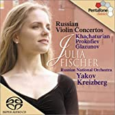 Russian Violin Concertos : Khachaturian / Prokofiev / Glazunov