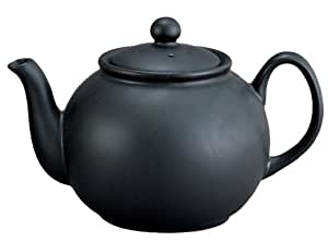 HIC Brands that Cook 32-Ounce Capacity English Style Teapot, Matte Black