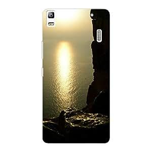 Mobile Back Cover For Lenovo A7000 Turbo (Printed Designer Case)