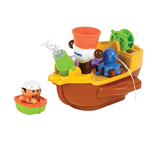 TOMY Pirate Ship Bath Toy - 1