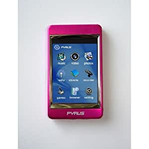 Pyrus Electronics 4Gb Mp3 / Mp4 Mp5 Player With 2.8 Inch Touch Screen And All Stainless Steel Casing