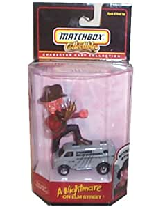Freddy Krueger: Nightmare on Elm Street - Matchbox Collectibles Character Car Collection - Monster Series