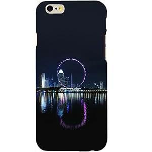 Casotec Singapore Big Wheel Design Hard Back Case Cover for Apple iPhone SE
