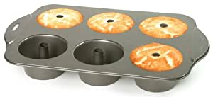 Mini Angel Food Cake Pan With Removable Bottom