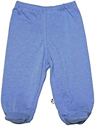 Babysoy Footie Pants (Baby) - Lake Blue-0-3 Months